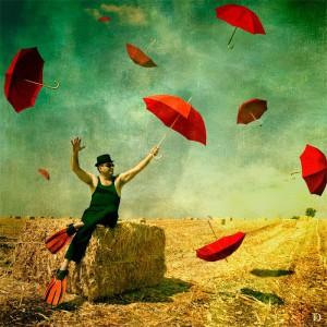 Red-Umbrellas